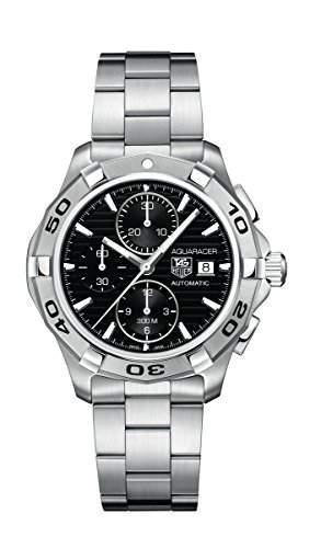 TAG Heuer Herren-Armbanduhr Chronograph Automatik Edelstahl CAP2110BA0833