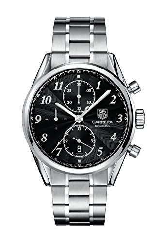 TAG Heuer Herren-Armbanduhr Chronograph Automatik Edelstahl CAS2110BA0730