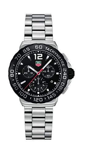 TAG Heuer Herren-Armbanduhr Chronograph Quarz Edelstahl CAU1110BA0858