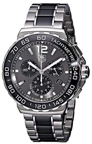 TAG Heuer Herren-Armbanduhr Chronograph Quarz Edelstahl CAU1115BA0869