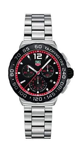 TAG Heuer Herren-Armbanduhr Chronograph Quarz Edelstahl CAU1116BA0858