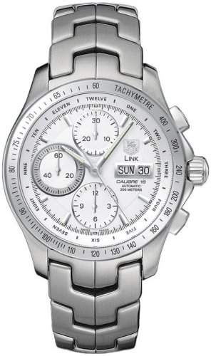 TAG Heuer Herren-Armbanduhr Chronograph Automatik Edelstahl CJF211BBA0594