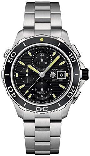 Tag Heuer Herren Aquaracer Chronograph Edelstahl Armbanduhr