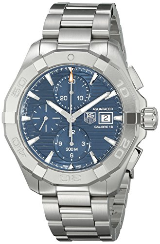 Tag Heuer Herren cay2112 ba0925 300 Aquaracer Blau Zifferblatt Edelstahl Armbanduhr