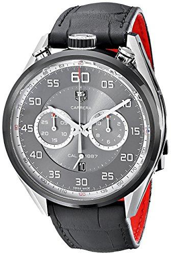 Tag Heuer Herren car2 C12 fc6327 Analog Display Swiss Automatische schwarz Armbanduhr