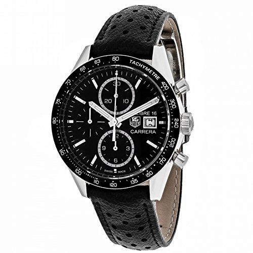 Tag Heuer Carrera Calibre 16 Automatik Herren Armbanduhr cv201aj fc6357