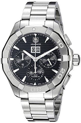 Tag Heuer Herren cay211z ba0926 Analog Display Swiss Automatische Silber Armbanduhr