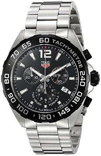 Tag Heuer Formel 1 Chronograph Schwarz Zifferblatt Herren Armbanduhr caz1010 ba0842