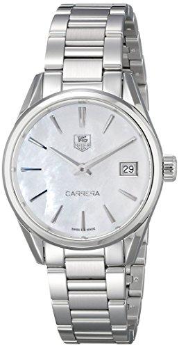 Tag Heuer Damen Armbanduhr war1311 ba0778 Analog Display silberfarbenes