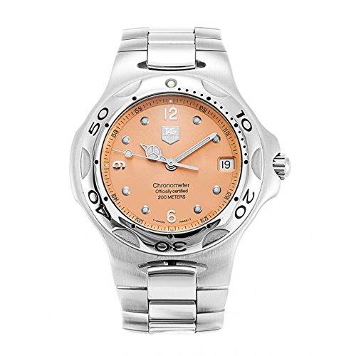 Uhr Tag Heuer KIRIUM wl5114 Schalter Stahl Quandrante Gold Pink Armband Stahl