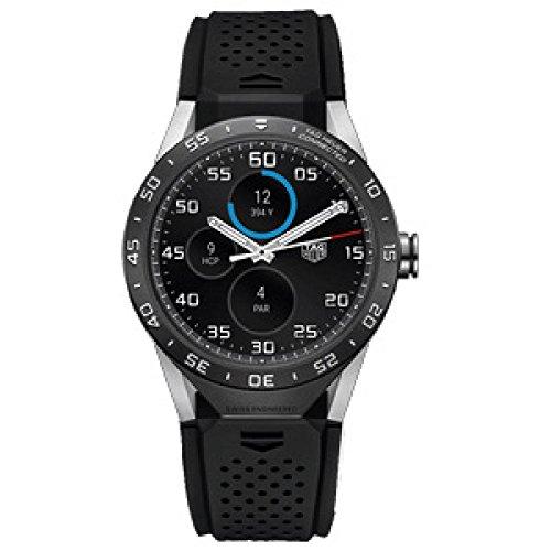 Uhr Tag Heuer Carrera sar8 a80 ft6045 Quarz Batterie Titan Quandrante schwarz Armband Kautschuk
