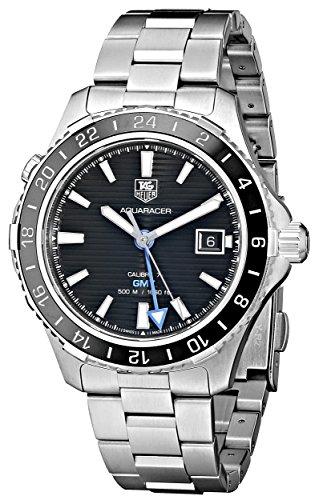 Tag Heuer Herren wak211 a BA0830 Keramik Kaliber Analog Display Swiss Automatische Silber Armbanduhr