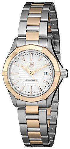 Tag Heuer Damen WAP1450 BD0837 Aquaracer Analog Display Quarz Zweifarbige Armbanduhr