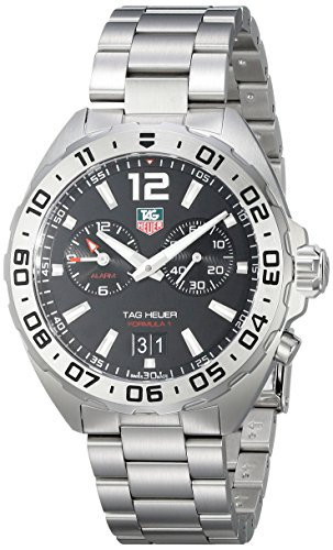Tag Heuer Herren waz111 a ba0875 Analog Display Armbanduhr mit Link Armband