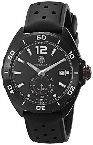 Tag Heuer Herren waz2112 ft8023 Formel 1 Analog Display Swiss Automatische schwarz Armbanduhr