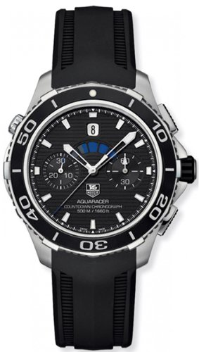 TAG Heuer Aquaracer 500m Calibre 72 Countdown Automatik Chronograph CAK211A FT8019