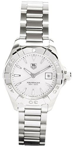 TAG HEUER AQUARACER DAMEN 27MM SAPHIRGLAS DATUM UHR WAY1411 BA0920