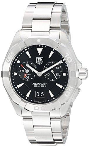 TAG Heuer Aquaracer Herren Armbanduhr 40 5mm Armband Edelstahl Gehaeuse Batterie Analog WAY111Z BA0928