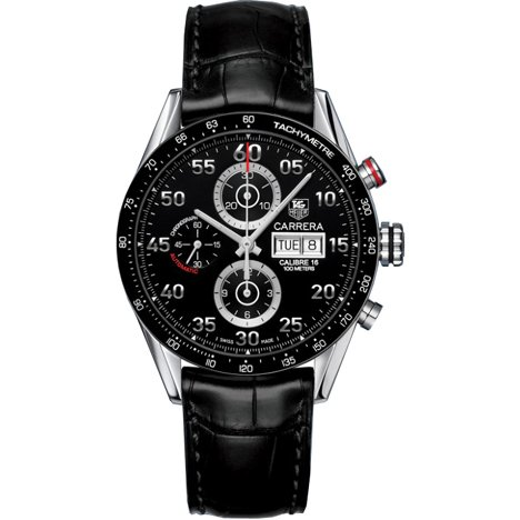 TAG Heuer Carrera Automatik Chronograph Day Date CV2A10 FC6235