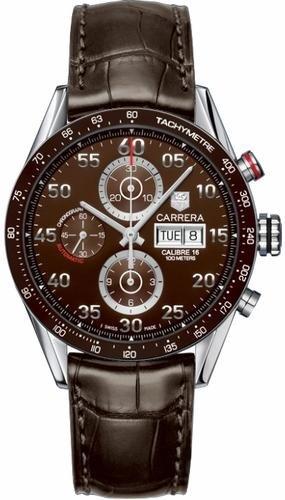 TAG Heuer Carrera Automatik Chronograph Day Date CV2A12 FC6236