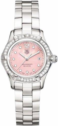 TAG Heuer Damen Armbanduhr Analog edelstahl Grau WAF141B BA0824
