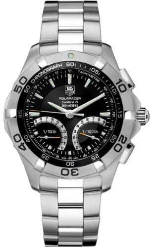 TAG Heuer Herren Armbanduhr Analog Automatik edelstahl Grau CAF7010 BA0815