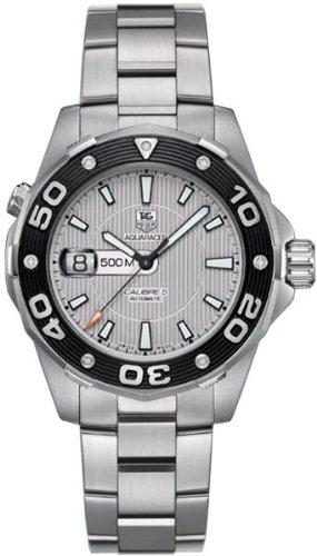TAG Heuer Herren Armbanduhr Analog Automatik edelstahl Grau WAJ2111 BA0870