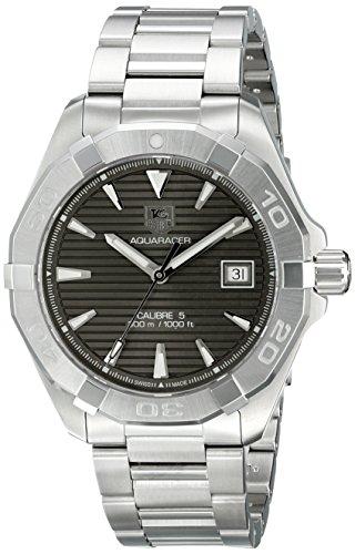 TAG Heuer Herren Armbanduhr Analog Automatik Edelstahl WAY2113 BA0910
