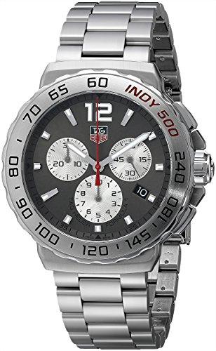 TAG Heuer Herren Armbanduhr Chronograph Quarz Edelstahl CAU1113 BA0858