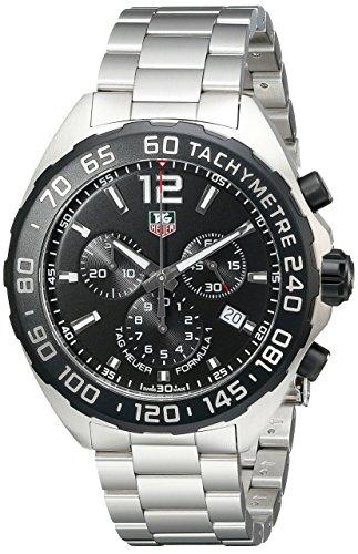 TAG Heuer Herren Armbanduhr Chronograph Quarz Edelstahl CAZ1110 BA0877