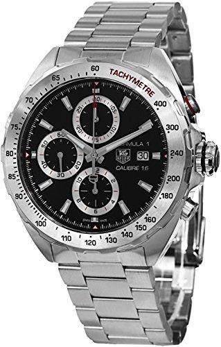 TAG Heuer Herren Armbanduhr Chronograph Automatik Edelstahl CAZ2010 BA0876