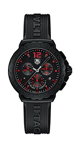 TAG Heuer Chronograph Quarz Kautschuk CAU111A FT6024