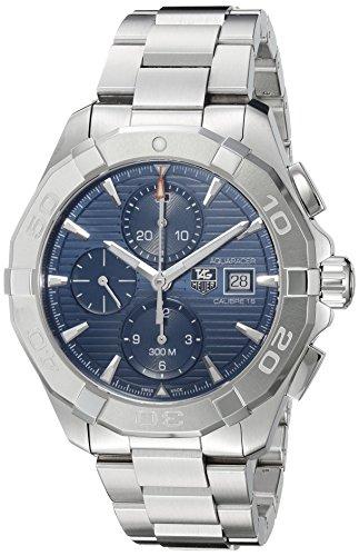 TAG Heuer Herren Armbanduhr 43mm Armband Edelstahl Gehaeuse Schweizer Automatik CAY2112 BA0927