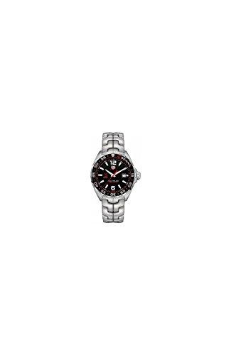 TAG Heuer Herren Armbanduhr Armband Edelstahl Gehaeuse Schweizer Quarz Zifferblatt Schwarz WAZ1012 BA0883