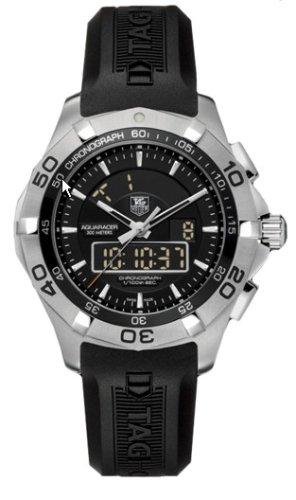 TAG Heuer Herren CAF1010 FT8011 Aquaracer Chronotimer Uhr