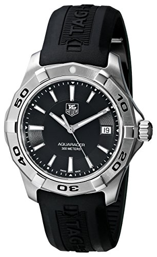 Tag Heuer Herren WAP1110 FT6029 Aquaracer Black Watch
