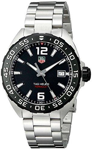 Tag Heuer WAZ1110 BA0875 Armbanduhr Armband aus Edelstahl Farbe Silber