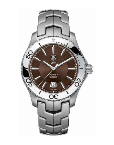 TAG Heuer Herren WJ201D BA0591 Link Automatik Uhr aus Edelstahl