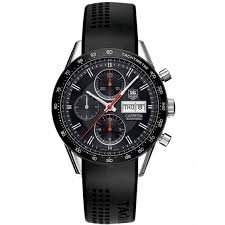 TAG Heuer Carrera Calibre 16 Chronograph Day-Date 41mm CV201AHFT6014