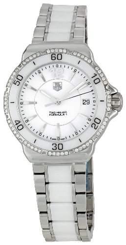 TAG Heuer Damen-Armbanduhr Analog Quarz Edelstahl WAH1213BA0861