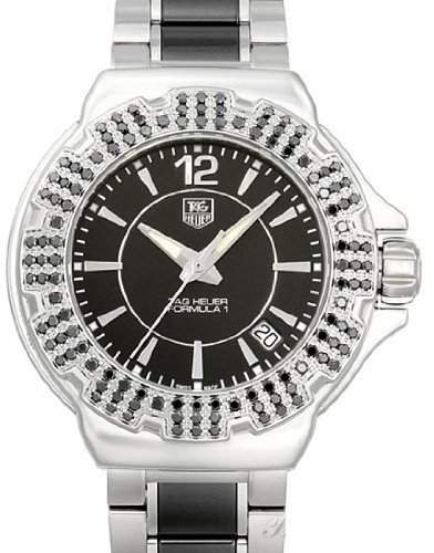 TAG Heuer Damen-Armbanduhr Analog Quarz Edelstahl WAH1216BA0859