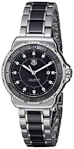 TAG Heuer Damen-Armbanduhr Analog Quarz Edelstahl WAH1312BA0867