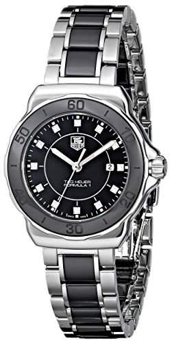 TAG Heuer Damen-Armbanduhr Analog Quarz Edelstahl WAH1314BA0867