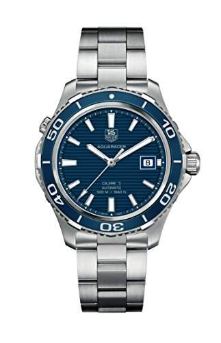 TAG Heuer Herren-Armbanduhr Analog Automatik Edelstahl WAK2111BA0830