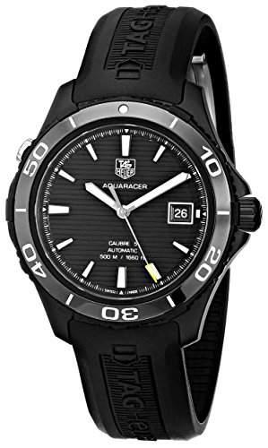 TAG Heuer Herren-Armbanduhr Analog Automatik Kautschuk WAK2180FT6027