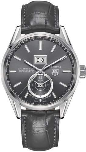 TAG Heuer Carrera Automatik Calibre 8 Grande Date GMT Chronometer WAR5012FC6326