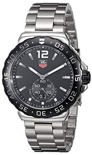 TAG Heuer Herren-Armbanduhr Analog Quarz Edelstahl WAU1110BA0858