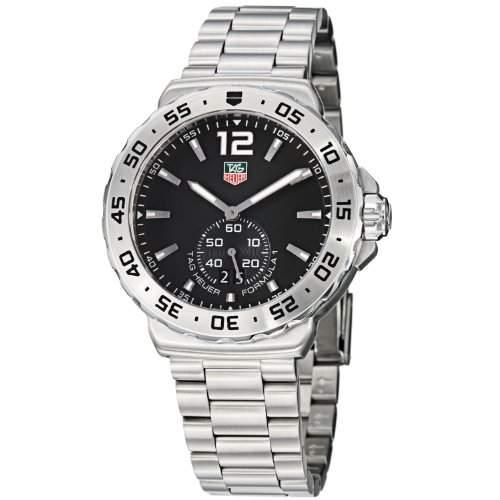 TAG Heuer Herren-Armbanduhr Analog Quarz Edelstahl WAU1112BA0858