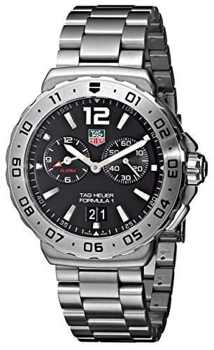 TAG Heuer Herren-Armbanduhr Analog Quarz Edelstahl WAU111ABA0858
