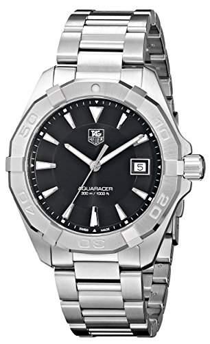 TAG Heuer Herren-Armbanduhr Analog Quarz Edelstahl WAY1110BA0910